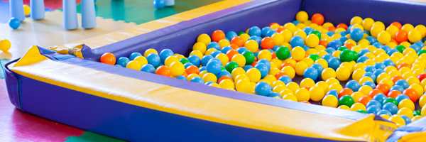 Plastic pool ball for kids